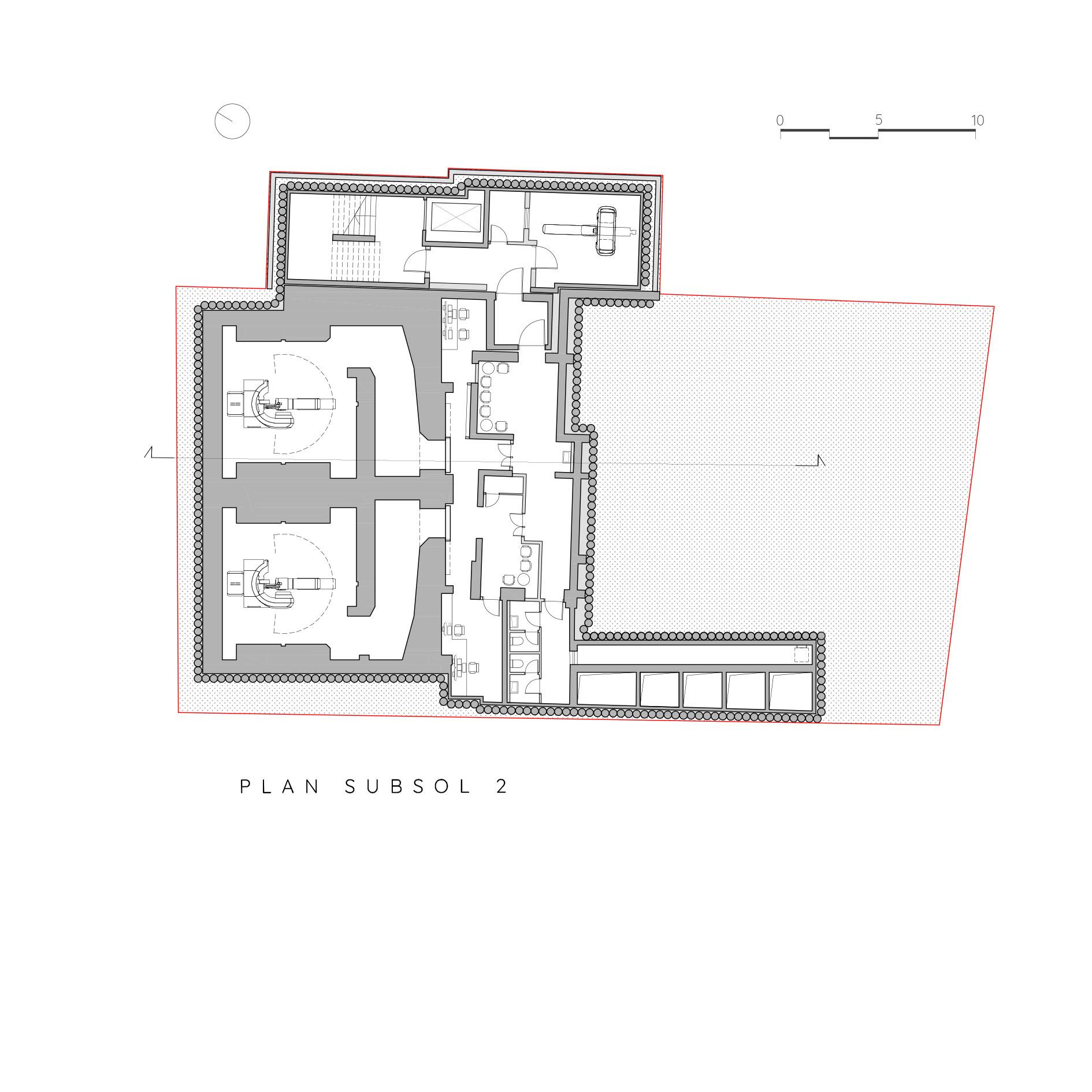 Centru Oncologic_Plan Subsol 2