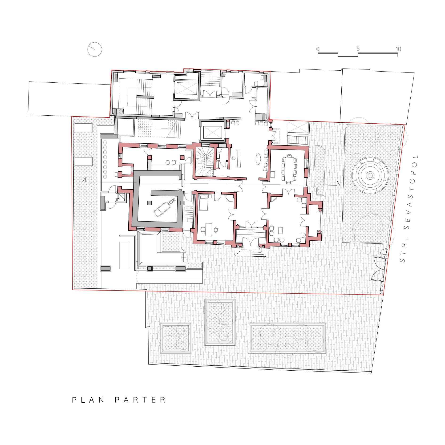 Centru Oncologic_Plan parter