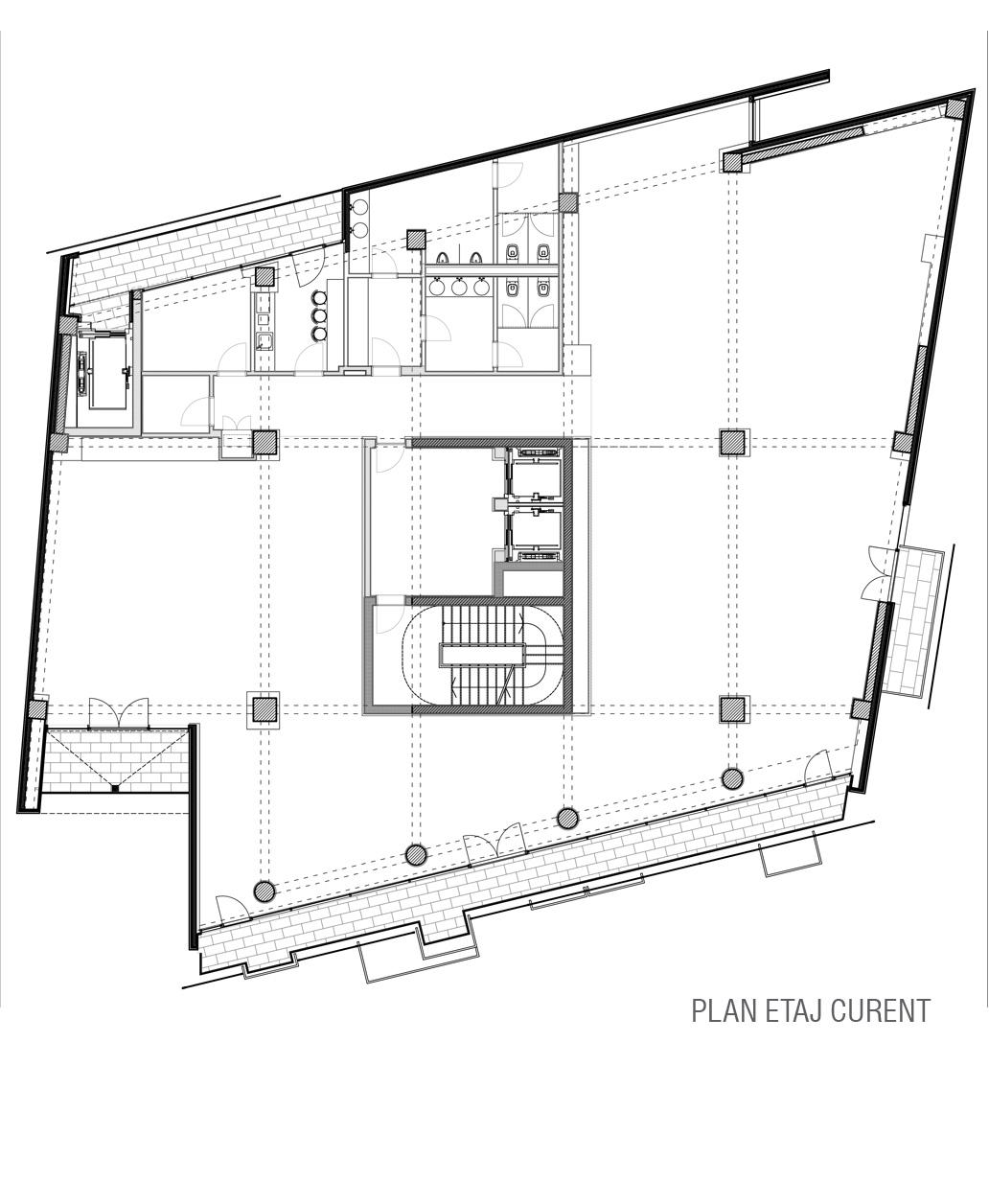 Poligrafiei_b.plan etaj curent